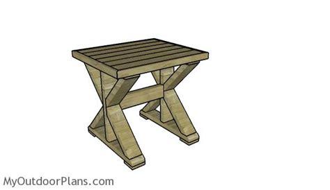 farmhouse end table plans farmhouse side table plans myoutdoorplans free