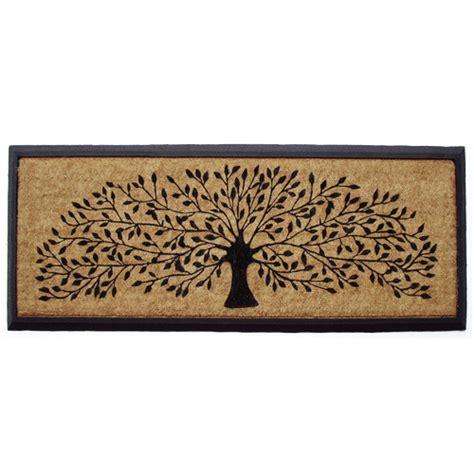 front door mats australia rubber and coir tree of door mat temple webster