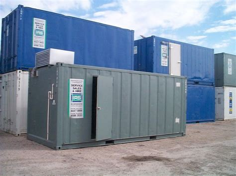 Modified Storage Container by Shipping Containers Adelaide Locally Owned Locally Modified