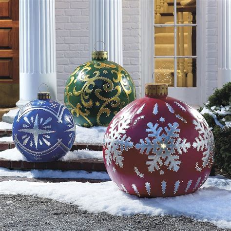 outdoor christmas ornaments 20 elegant outdoor christmas decorations perfect for the
