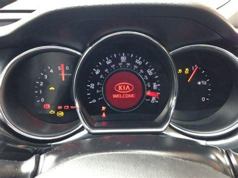 Kia Dashboard Lights by Kia Cee D Mk2 Dash Warning Lights