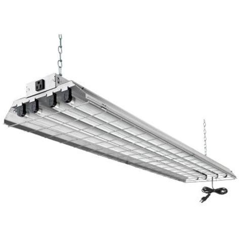 lithonia lighting 4 light grey heavy duty fluorescent