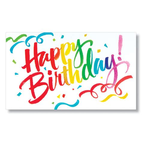 birthday confetti birthday cards