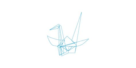Origami Logo Tutorial - how to create an origami logo blueblots