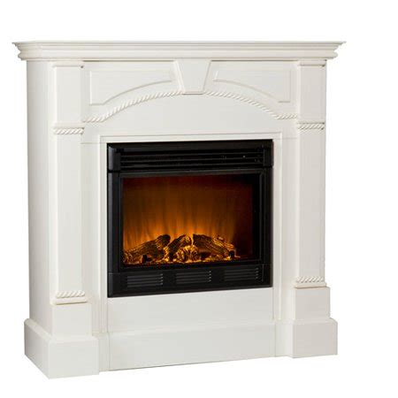 electric fireplaces at walmart electric fireplace ivory walmart