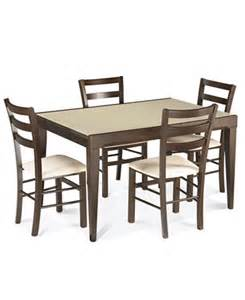 Dining Room Set Macys Caf 233 Latte Dining Room Sets Furniture Macy S