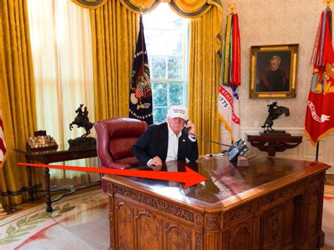 trump desk trump desk photo slammed on twitter see past presidents