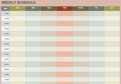 Blank Weekly Schedule Best Quality Loving Printable Blank Staffing Schedule Template