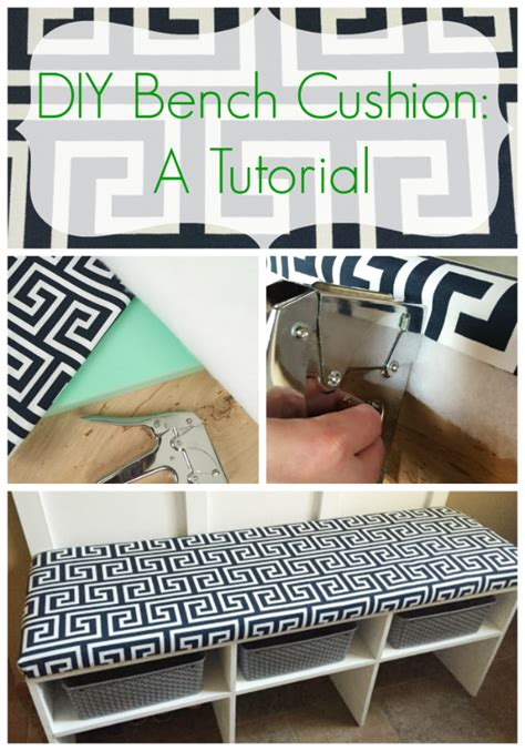 how to make a bench cover diy bench cushion a tutorial lemons lavender laundry