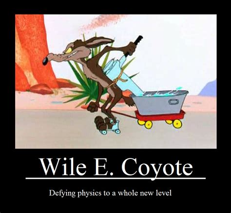 Wile E Coyote Meme - time wasting quiz which looney tunes character are you