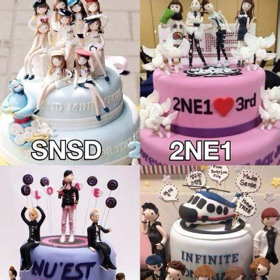 kpop themed cake kpop cakes which do you want