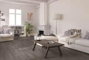 Grey wood laminate flooring for a beauty room flooring