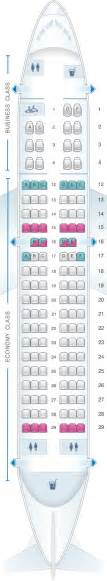 plan de cabine air canada airbus a319 100 config 1