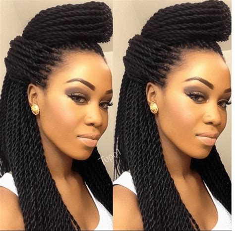 different kind of hairstyle with twisting 11 easy senegalese twists styles videos twists and style