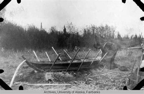 kayak form birch bark canoe  folk school fairbanks