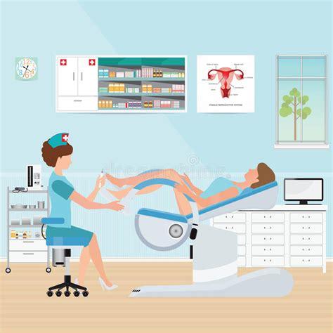 sedia ginecologica aggiusti il controllo paziente sulla sedia