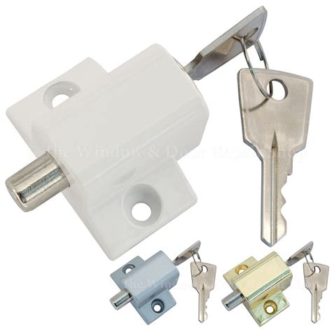 sliding patio door or window lock security locking push catch bolt 2 the window door