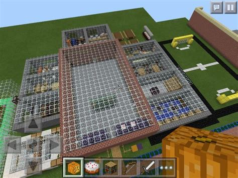 Brick House Plans by Minecraft