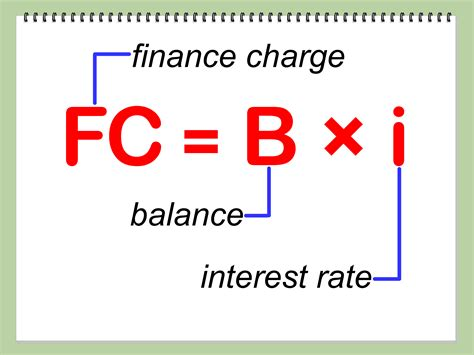 Credit Card Formula How To Calculate The Finance Charge On A Credit Card Balance