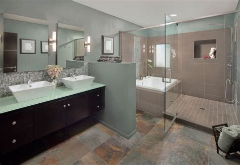 Modern Bathroom Ideas Photo Gallery by Master Bathroom Ideas Photo Gallery Brown Stained Wooden