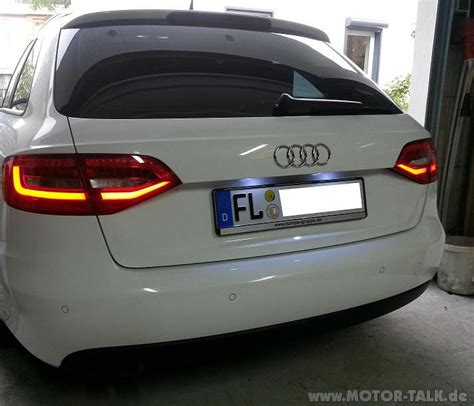 Audi A5 Facelift R Ckleuchten by Audi A4 B8 8k Audi A5 B8 8t Facelift Led R 252 Ckleuchten