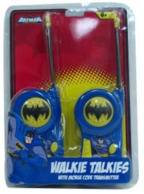 Diskon Walkie Talkie Batman Superman batman walkie talkie collection