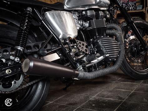 Motorrad Auspuff Sebring by Bonneville Auspuff Triumph Ac Bis Bj 2015