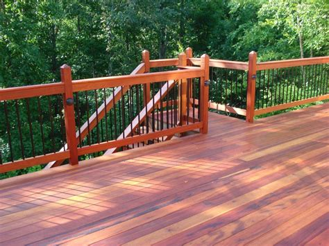 cedar deck above and beyond construction hardie