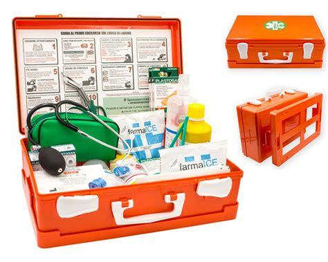 kit cassetta pronto soccorso cassetta pronto soccorso medic2 onfarma