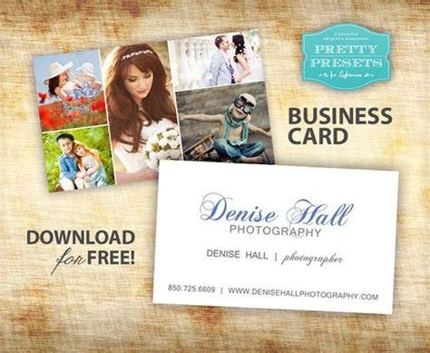 lightroom business card template the world s catalog of ideas