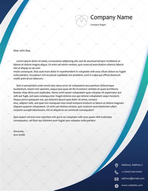 company letterhead template word template design