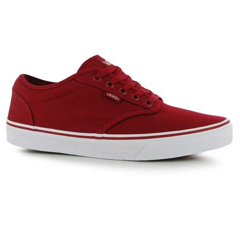 vans mens atwood lace up canvas everyday casual leisure