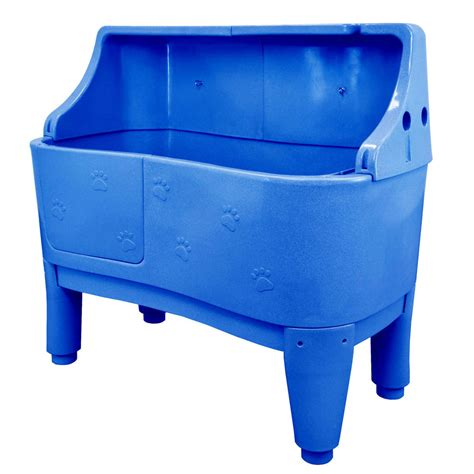 pet bathtub flying pig 58 quot large polyethylene seamless dog pet shower