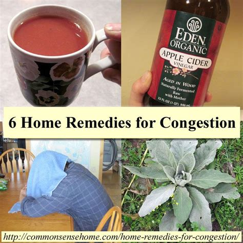 9 home remedies for congestion decongestants