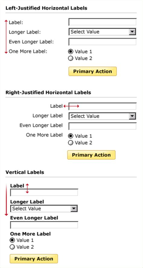 layout application forms lukew web application form layout