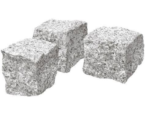 Granit Pflastersteine Obi by Pflasterstein Granit Grau Ca 9x9x9cm Bei Hornbach Kaufen
