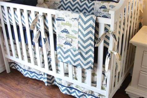 Cars Crib Bedding Set Vintage Cars Boy Crib Sets Boy Crib Bedding Cars Bedding For