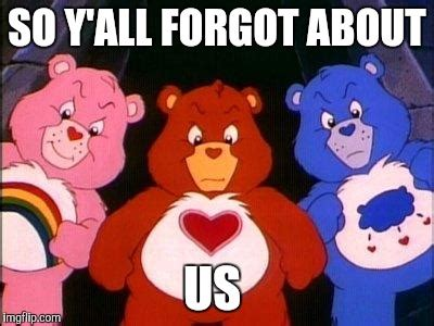 Care Bear Meme - pissed care bears imgflip