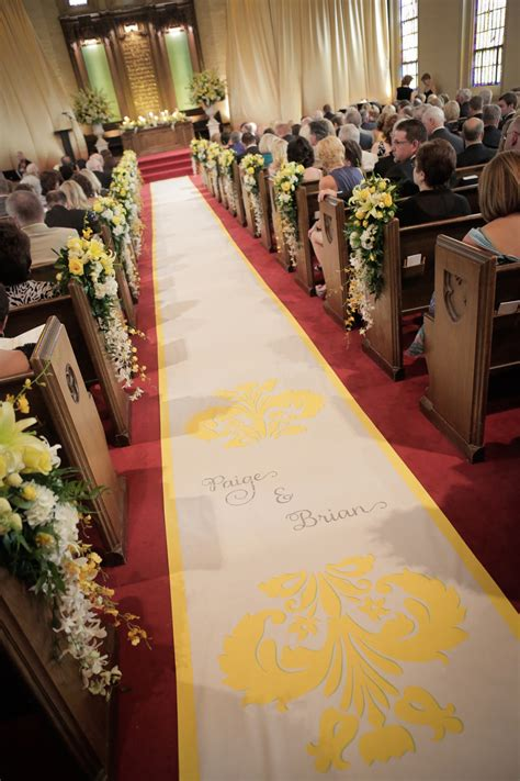 wedding aisle runner tradition unrolling the news nolte s bridal