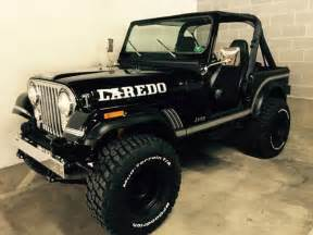 1985 Jeep Wrangler For Sale 1985 Jeep Cj 7 258 6 Cyl Factory Automatic Black Restored