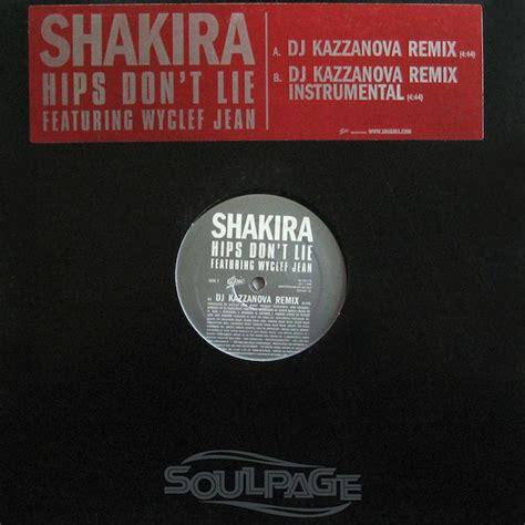 Shrink Hips Xss Korset shakira feat wyclef jean hips don t lie dj kazzanova remix 12 quot us promo ebay