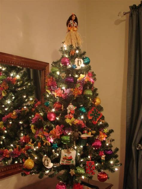 hawaiian christmas tree mele kalikimaka pinterest