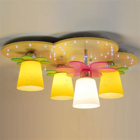 modern led yellow cloud bedroom ceiling ls children kid