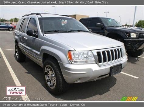 silver jeep grand 2004 bright silver metallic 2004 jeep grand limited