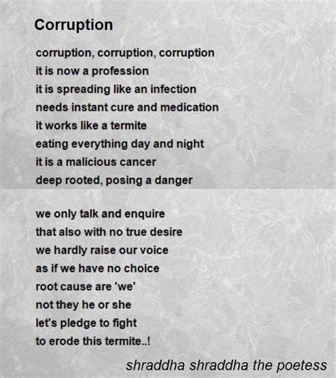 Housewarming Present corruption poem by shraddha shraddha the poetess poem hunter