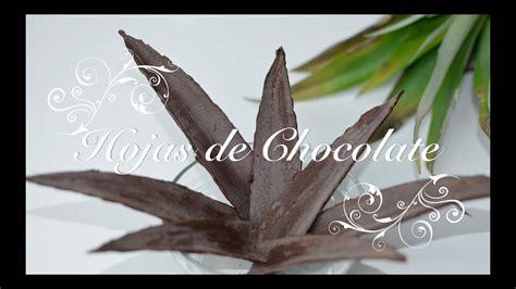 decorar tartas facil hojas de chocolate para decorar tartas adornos de