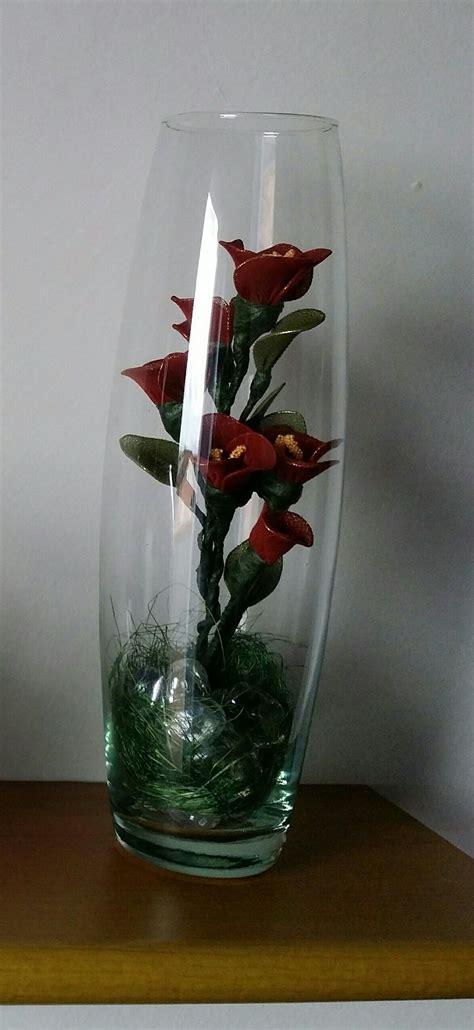 fiori con calze composizione di fiori con collant fil di ferro e