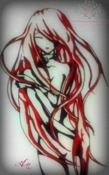 anime girl tattoo anime images designs