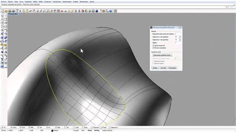 tutorial video rhino tutorial de rhinoceros parte2 superficies youtube