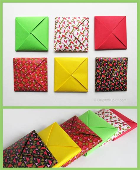 Origami Envelope - a menko how to make a traditional origami envelope